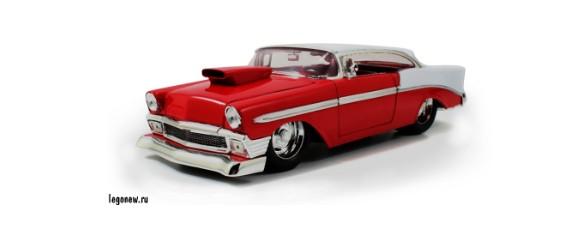 Модель автомобиля 1956 Chevy Belair Hard Top