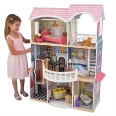 Винтажный кукольный дом для Барби Магнолия
