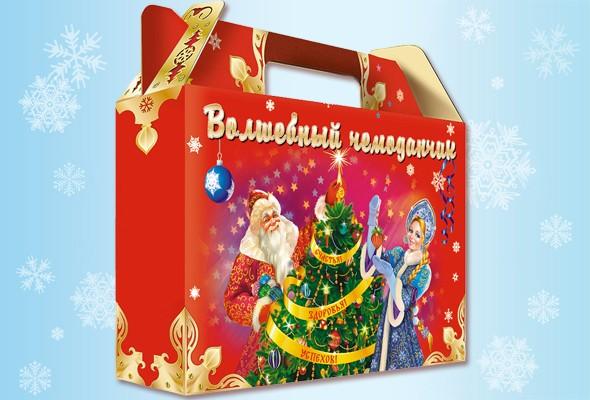 Красочная подарочная коробка «Волшебный чемоданчик»