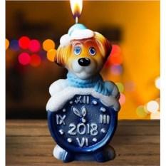 Новогодняя свеча «5 минут»