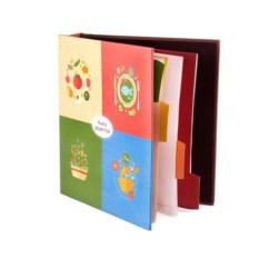 Книга для записи кулинарных рецептов Тысяча блюд