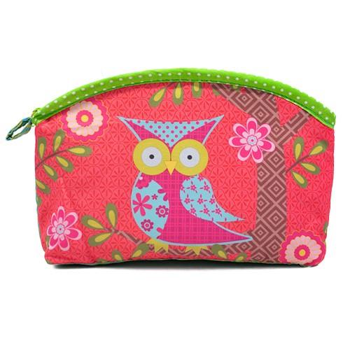Косметичка Funky Owl (розовая)