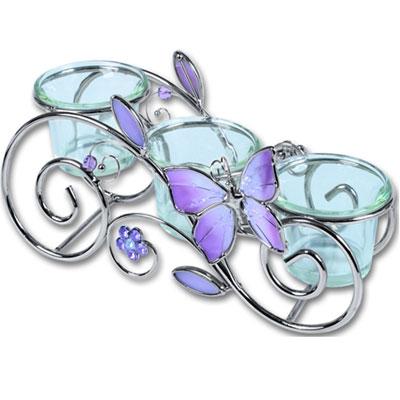 Подсвечник «Розовая бабочка»