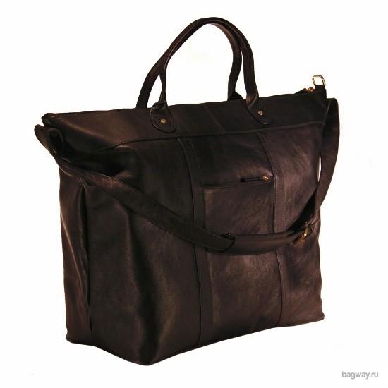 Кожаная дорожная сумка Travel Roberto от Hidesign