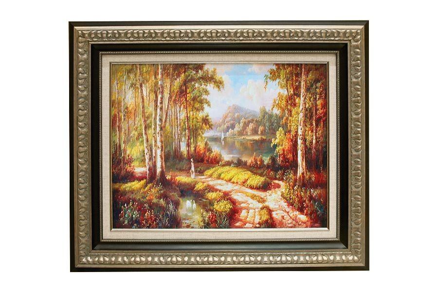 Картина Прогулка в лесу