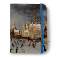 Флорентийская записная книжка «Зимний вид Лейдена»