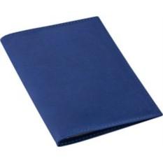 Синяя обложка для автодокументов Twill
