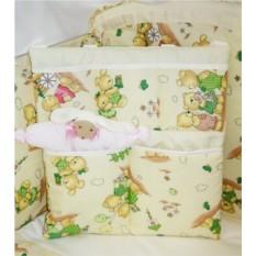 Комплект кроватку с балдахином и бортиком Веселая прогулка