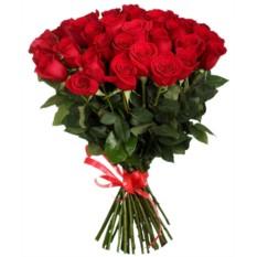Букет из 75 роз (70см)