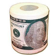 Прикольная туалетная бумага 100$