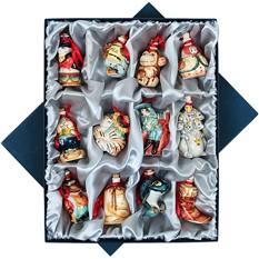 Набор «Новогодний», из 12 мини-штофов