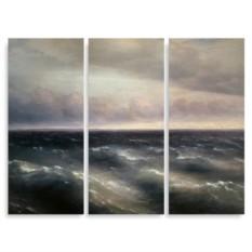 Модульная картина Айвазовский. Черное море