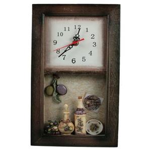 Коллаж-часы Olive