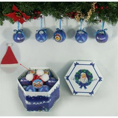 Набор шаров Фрости рождество