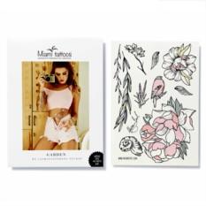 Татуировка переводная Sasha Tattooing Garden, лист А4