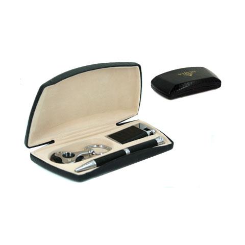 Подарочный набор VIRON: авторучка, зажигалка, брелок