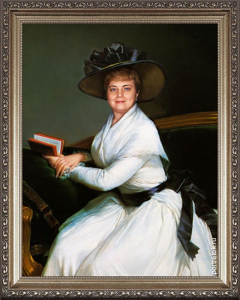 Оригинальный портрет маме на юбилей