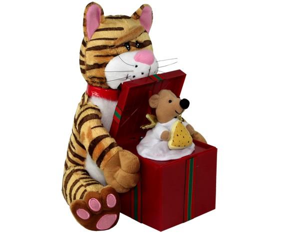 Поющая игрушка Кот и Мышка