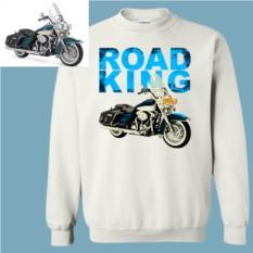 Толстовка с дизайнерским принтом Ваш мотоцикл