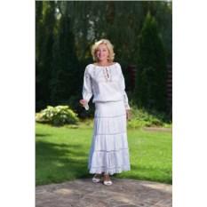 Белая юбка Паро