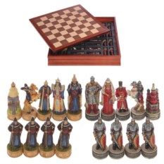 Шахматы Русские богатыри с монголами