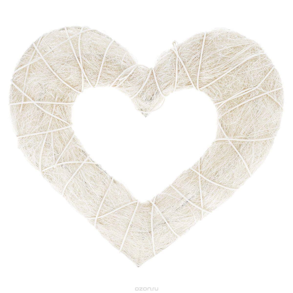 Декоративный венок-заготовка ScrapBerry's Сердце