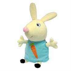 Мягкая игрушка «Кролик Ребекка с морковкой», Peppa Pig