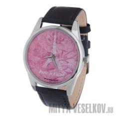 Часы Mitya Veselkov Париж на розовом