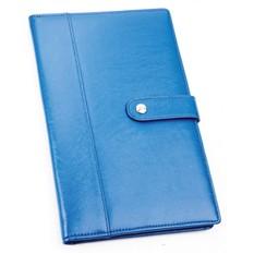 Портмоне для авиабилетов и кредитных карт, синее