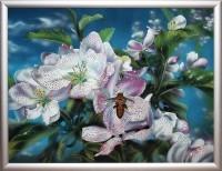 Картина Swarovski Яблоневый цвет