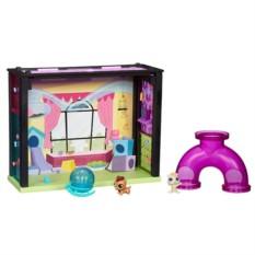 Стильный мини-игровой набор Littlest Pet Shop