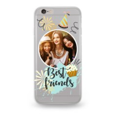 Чехол для iPhone с вашим фото Best friends