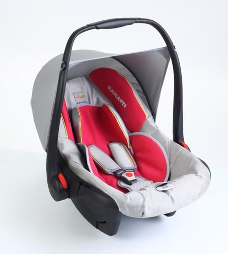 Автокресло Ramatti Mars-Comfort, цвет: серый/розовый