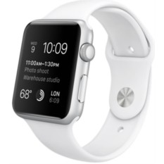 Apple Watch Sport 42mm with Sport Band (White)