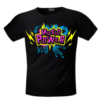Футболка  Music Power