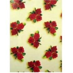 Упаковочная бумага с красными розами