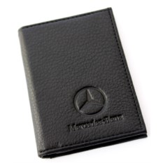 Бумажник для автодокументов с отделением для денег Mercedes