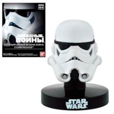 Шлем на подставке Звездные Войны. Штурмовик от Bandai