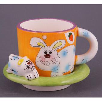 Чайный набор на 1 персону «Кролик»
