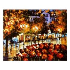 Картины по номерам «Цветы Люксембурга»
