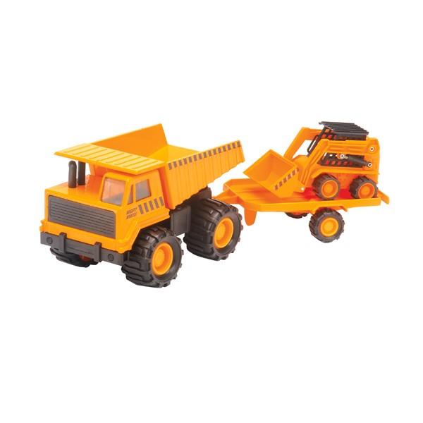 Набор машинок Карьерный грузовик + минипогрузчик