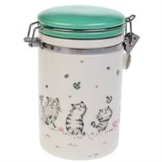 Емкость для сыпучих продуктов Смешные котики