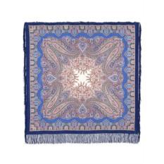 Павлопосадский шелковый платок с рисунком Восточная сказка