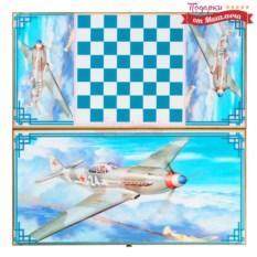 Нарды и шашки Боевой самолет