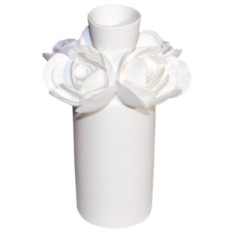 Ваза-бутыль Роза от Csm