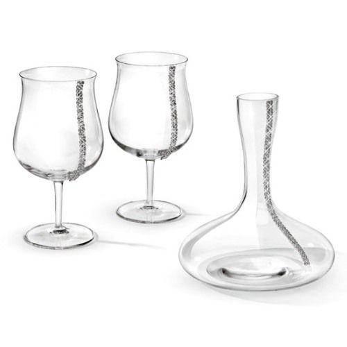 Набор для вина с кристаллами Swarovski Pagos