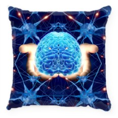 Подушка Мозг в руках