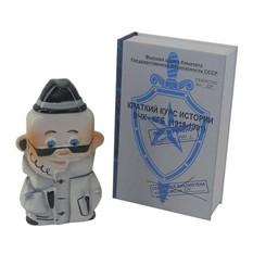 Штоф подарочный Чекист в футляре-книге