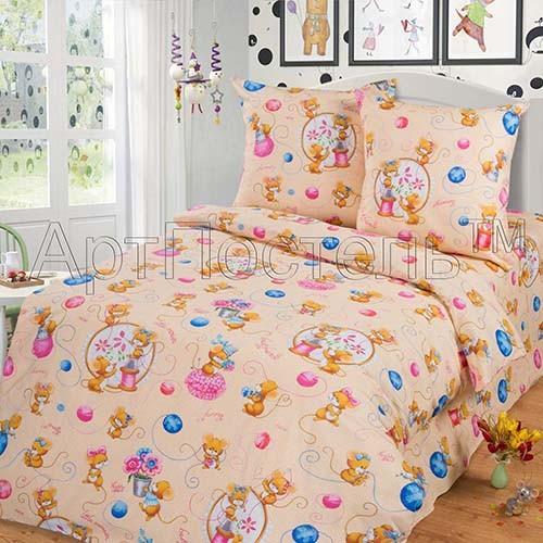 Комплект постельного белья Мышки (ясельный)