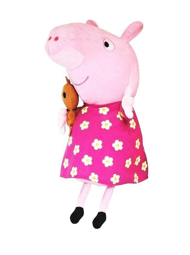 Мягкая игрушка «Пеппа в пижаме», 40 см, Peppa Pig